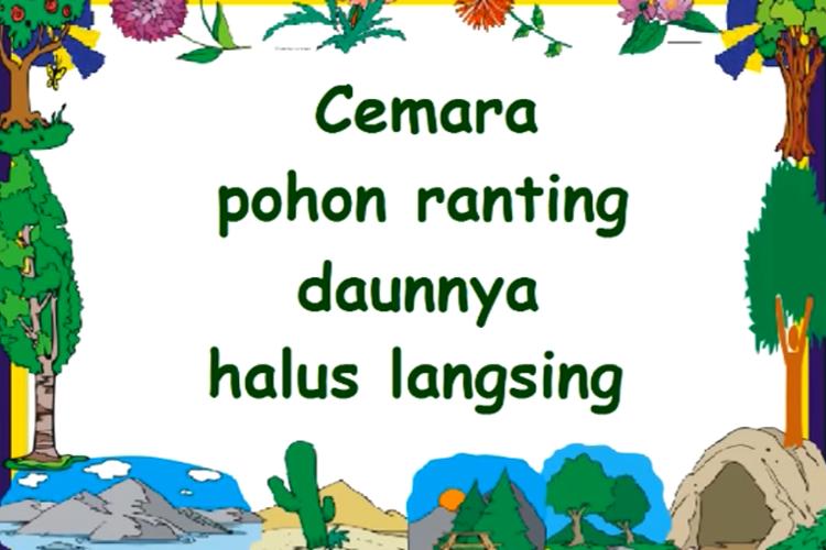 lirik lagu Cemara - AT Mahmud