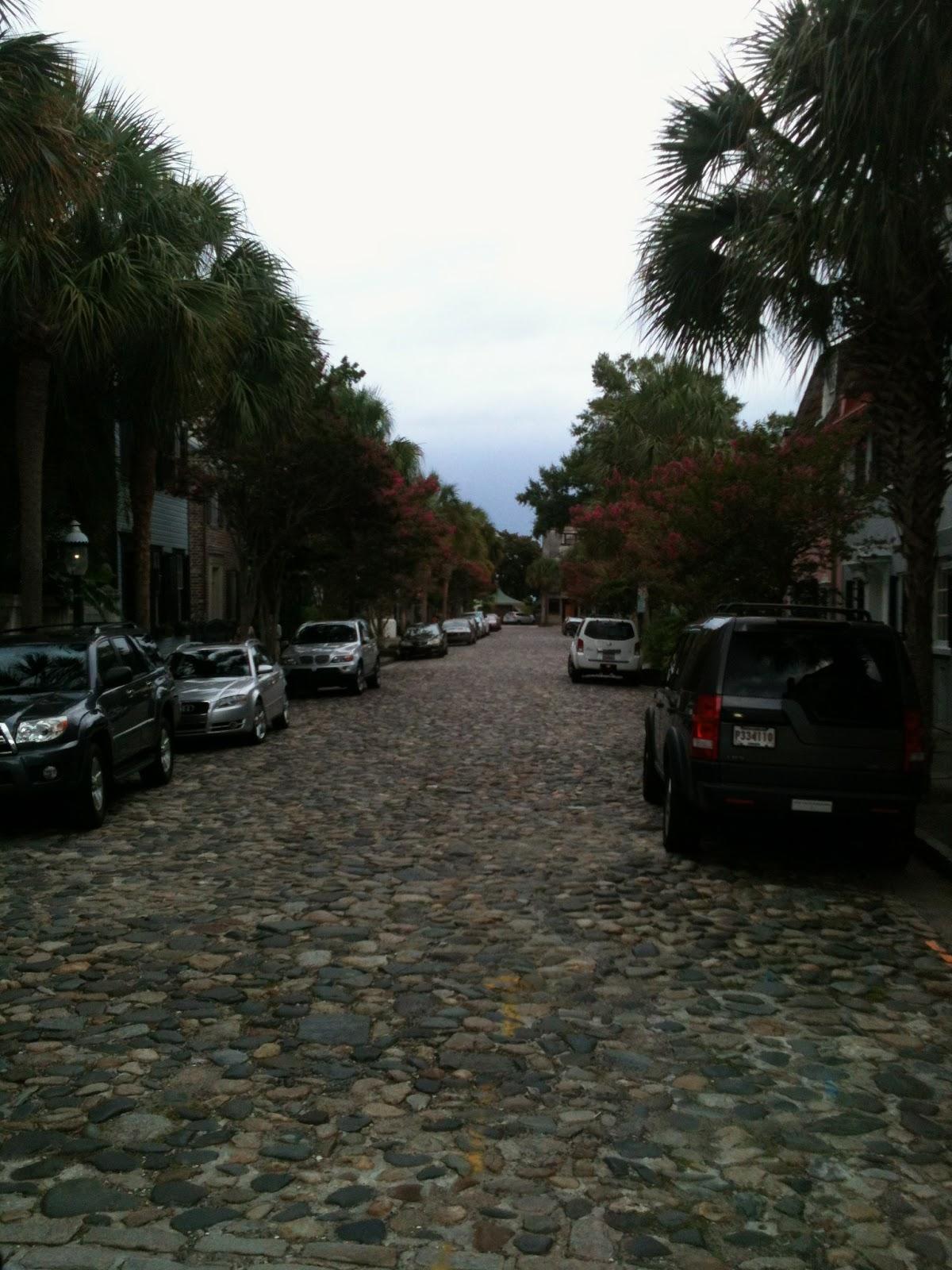 Cobblestone Streets - Charleston, SC