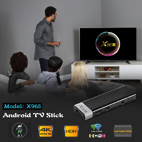 X96S - Os Android TV Sticks vieram para ficar