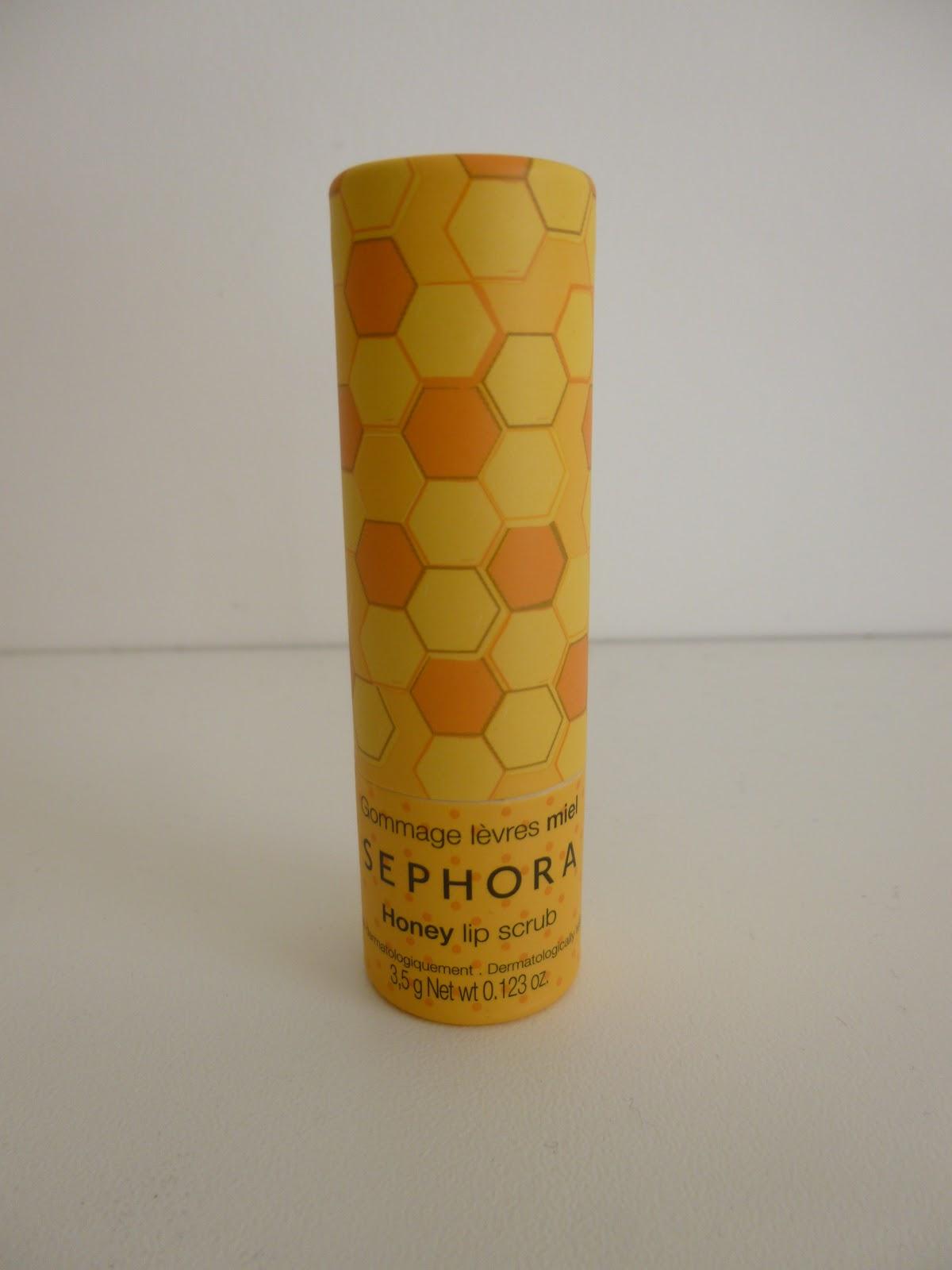 baume lèvres miel sephora gommage