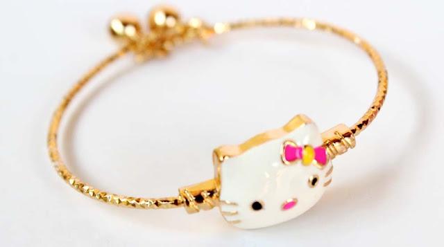 gelang emas cantik