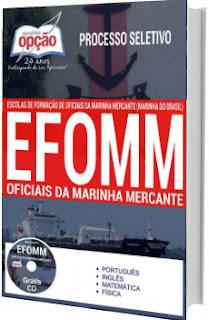 Apostila Concurso EFOMM 2017 Oficial