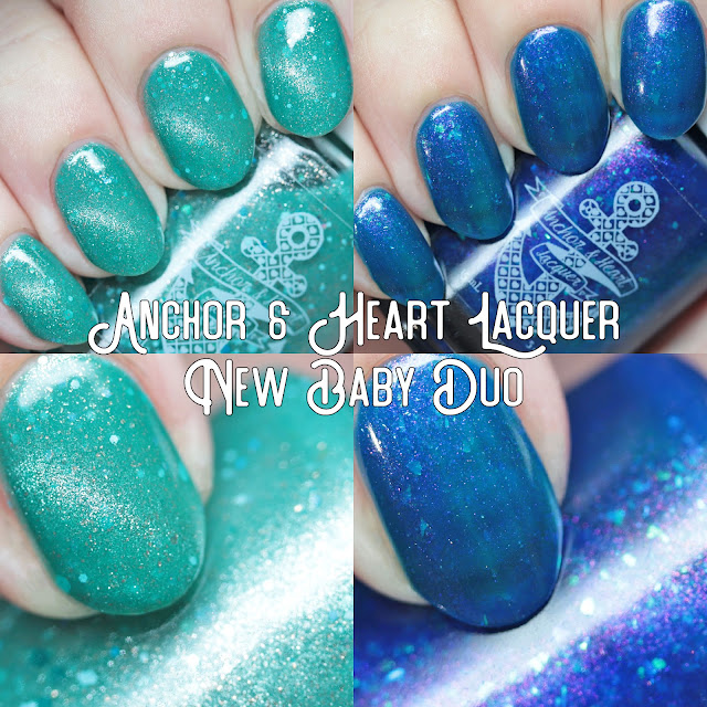 Anchor & Heart Lacquer New Baby Duo