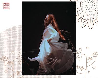 cakecaine dapat jadi pemikiran  OOTD vintage mu Inspirasi OOTD Dress Ala Nadin Amizah, Outfit Vintage yang Simple dan Anggun