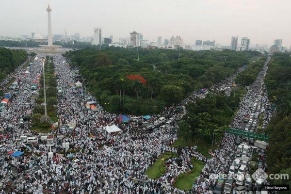 Di Luar Dugaan, Massa Reuni 212 Bisa Tembus 10 Juta Orang