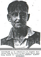 Ernest Richards, who tried to escape from Brisbane's Boggo Road Gaol in 1932.
