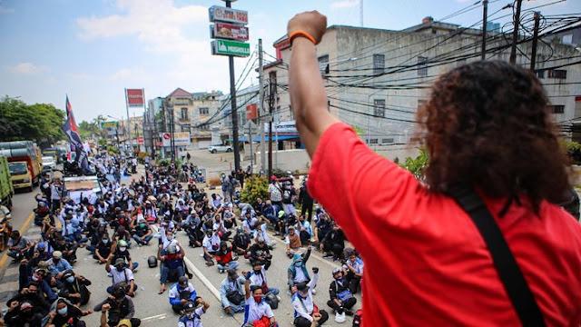 Airlangga Tuding Dalang Demo, Presiden Serikat Buruh: Kami Punya Kas!