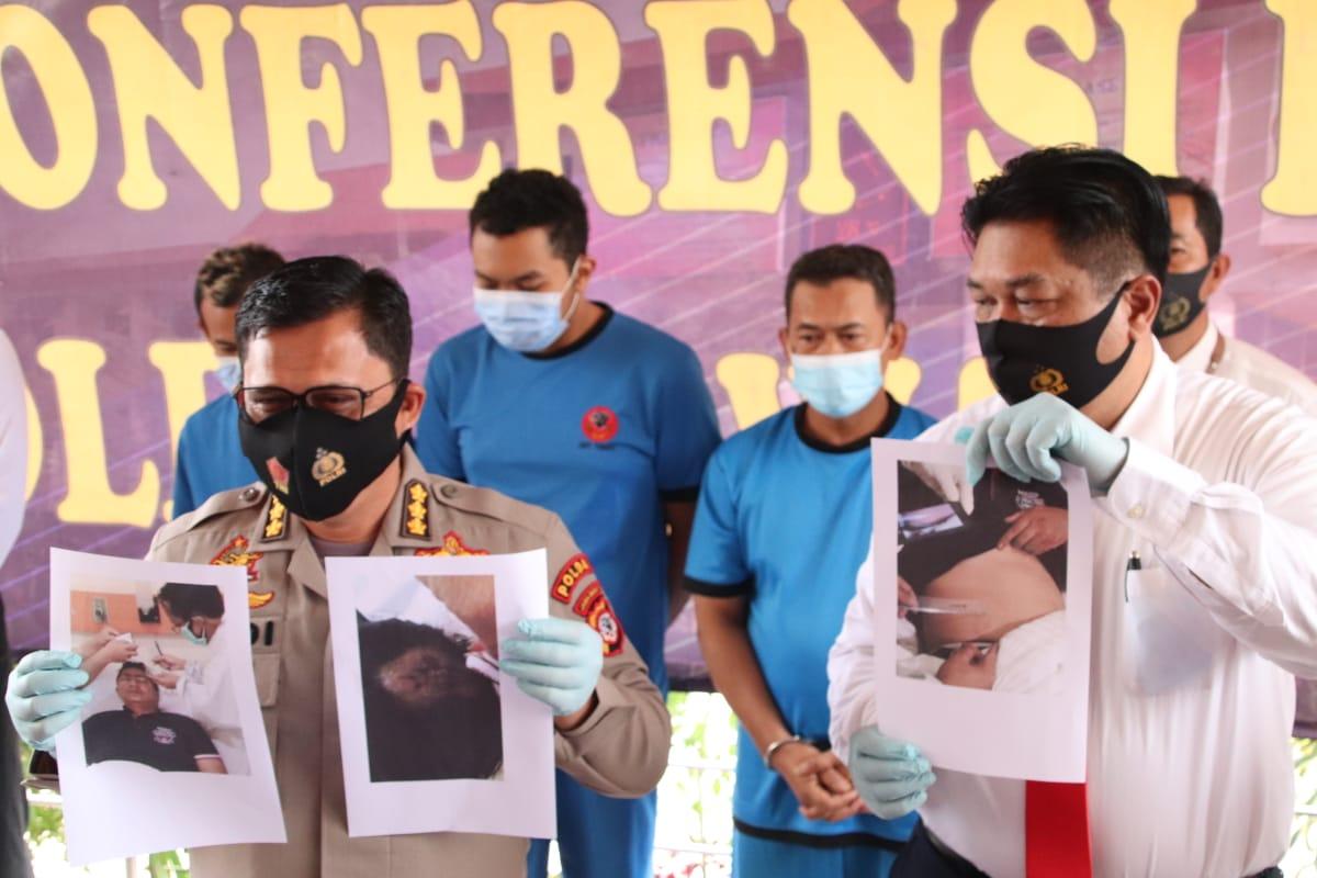 Penganiaya Polisi Terancam 5 Tahun Penjara, 4 Pelaku Saat Ini Ditahan di Bandung