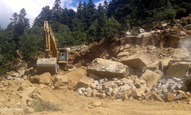 Όρη Βάλτου: Κατεδαφίστηκε περιοχή NATURA, για 16 ανεμογεννήτριες!