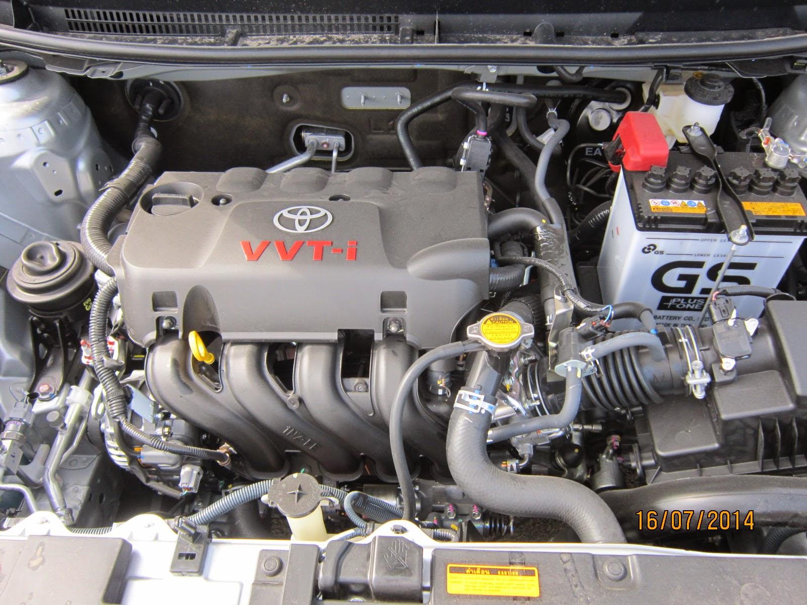 Động cơ WTT-i trên Toyota Vios 2015