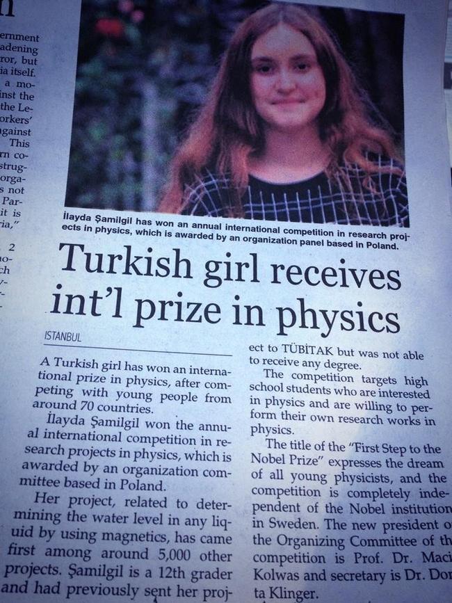 TÜBİTAK'ın Reddettiği Yarım Nobel Ödülü Alan Türk: İlayda ŞAMİLGİL