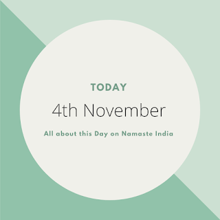 4th November - A Day in the life of India