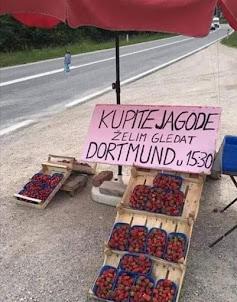 Smešan oglas za jagode