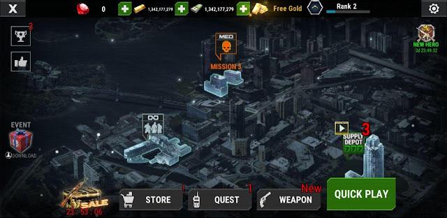 تحميل لعبة DEAD TARGET: zombies  مهكره للاندرويد