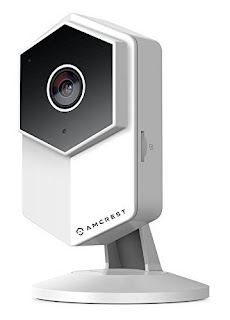 Amcrest ProHD Shield WiFi IP Security Camera, 960P 1.3 Megapixel(1280960P), Two-Way Audio, Wide 140° Viewing Angle, MicroSD & Cloud Recording, Night Vision, (White) (Renewed)