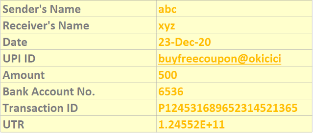 Fake Paytm Screenshot Generator with Name, Upi, Amount, Date