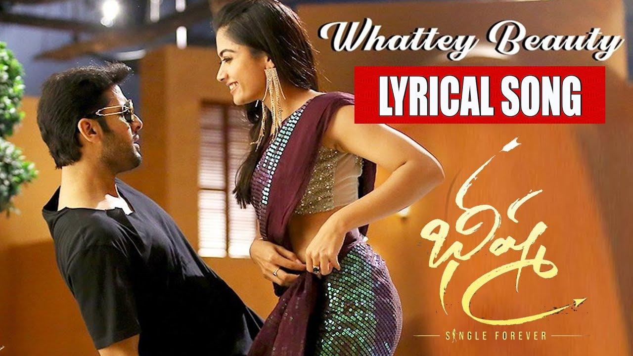 Whattey Beauty Song Lyrics Bheeshma Nithin Rashmika Mandanna Onlymovielyrics