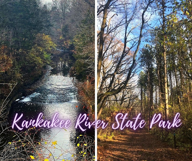 Water Views, Cliffs, Forest Trails and a Waterfall Charm at Kankakee River State Park