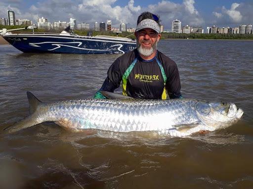 Pescaria com o Thiago