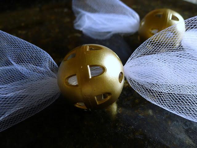 DIY Golden Snitch