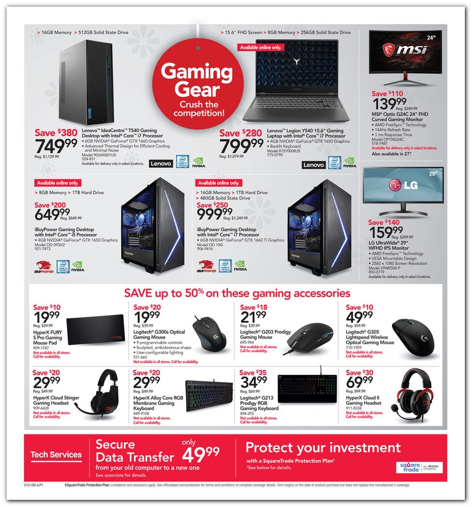 Office Depot® & Officemax® Black Friday 2019 page 9