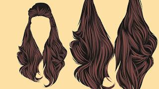 rambutku mahkotaku