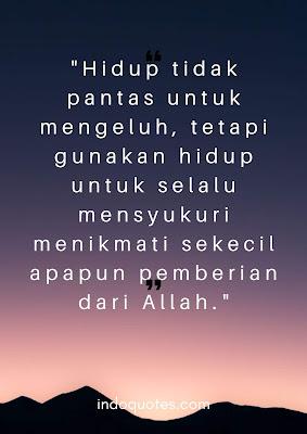 kutipan semangat hidup islami