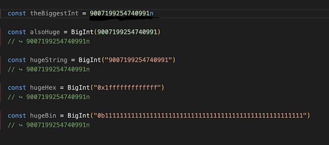 bigInt in javascript
