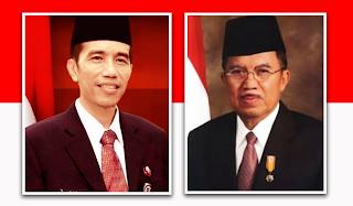 Gambar Presiden ke 7 Republik Indonesia Jokowi-JK