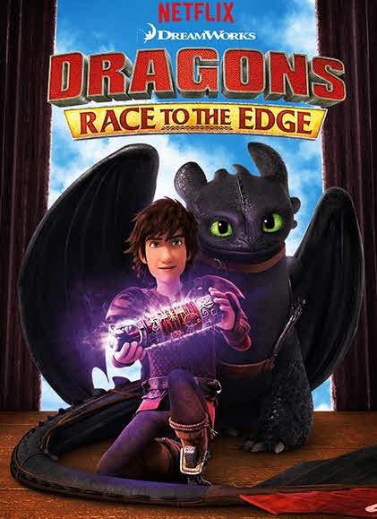 مسلسل Dragons: Race to the Edge موسم 1 كامل