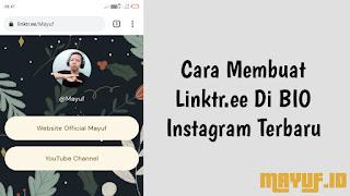 Cara Membuat Linktr.ee Di BIO Instagram Terbaru