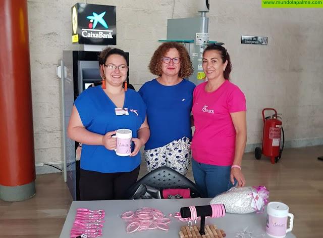 El Cabildo apoya la acción de la asociación Ámate con las pacientes de cáncer de mama en La Palma