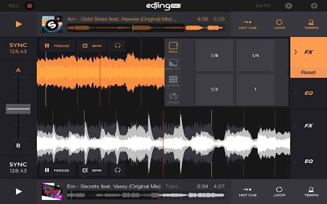 edjing PRO – Music DJ mixer 1.5.4 Apk for Android 2019