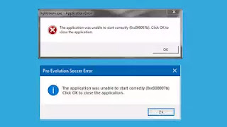 حل مشكلة ( 0x000007b ) عند تشغيل البرامج والألعاب