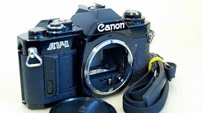 Canon AV-1 (Black) Body #920