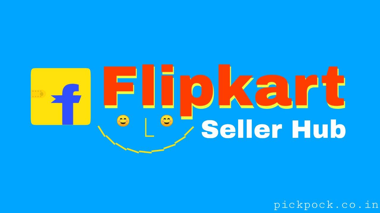 Flipkart seller account, flipkart seller logo, PickPock, flipkart seller