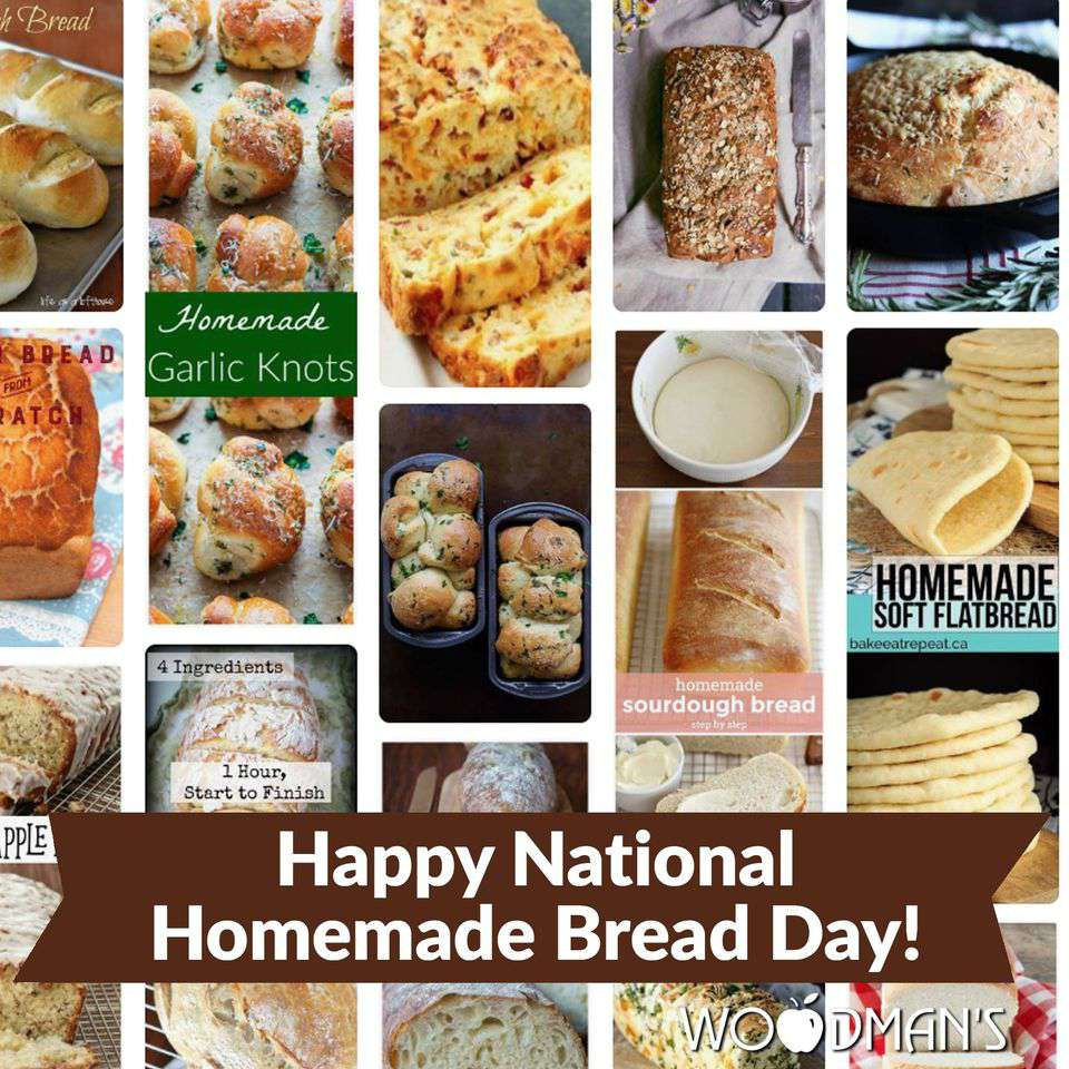 National Homemade Bread Day Wishes Images download