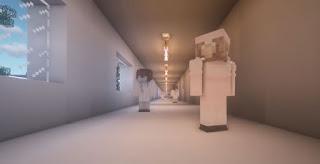 lorong rumah sakit corona virus replika minecraft game