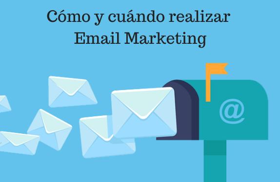 bandeja, cómo, cuando, Email Marketing, Emailing, Lanzamiento, Objetivos, oferta,