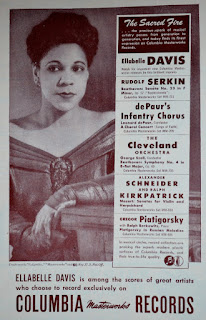 Ellabelle Davis Headlines 1948 Season at Carnegie Hall / Jan 13, 1948
