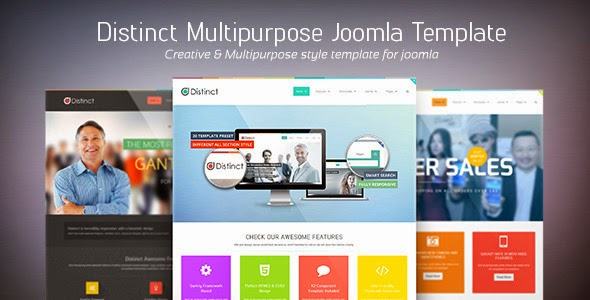 Distinct – Multi-purpose Joomla Template