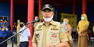 Walikota Jambi Fasha Kukuhkan Puluhan Relawan Guna Perkuat Daya Juang Lawan Covid-19