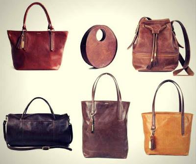 Bolsas da Marca Americana Fount Leather