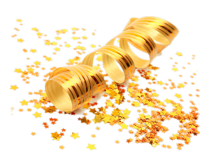 golden ribbon, png Picture Material, free png