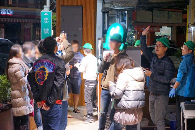 DSC09418 - 台中深夜食堂│深夜戴綠帽吃燒餅,綠帽燒餅試賣期間只到31號跨年夜,元旦就會先停售做修正(已歇業