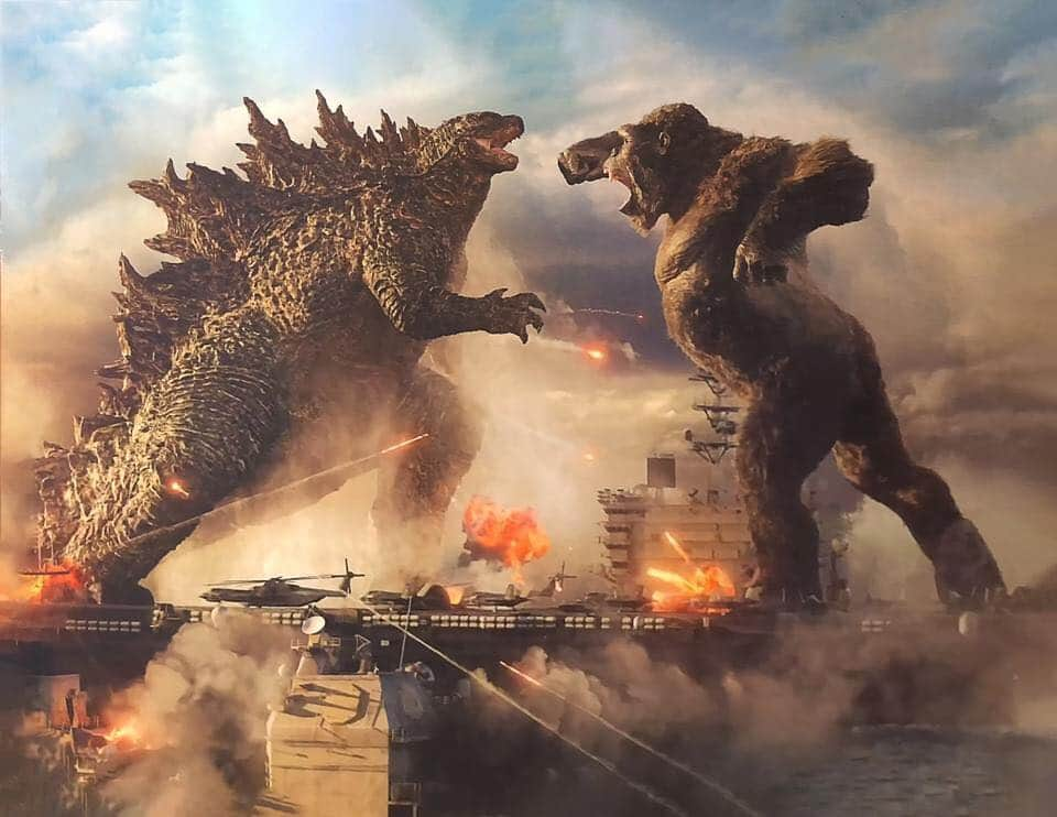 Godzilla vs Kong shows the best look at its protagonists fighting to date