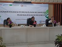 Literasi Keuangan sebagai modal menopang masa depan PMI dan keluarganya di Lampung