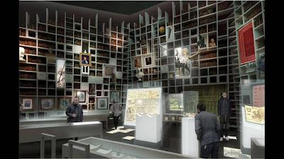 Μέσα στη νέα βιβλιοθήκη-μουσείο μιας διαχρονικά λόγιας Κοζάνης