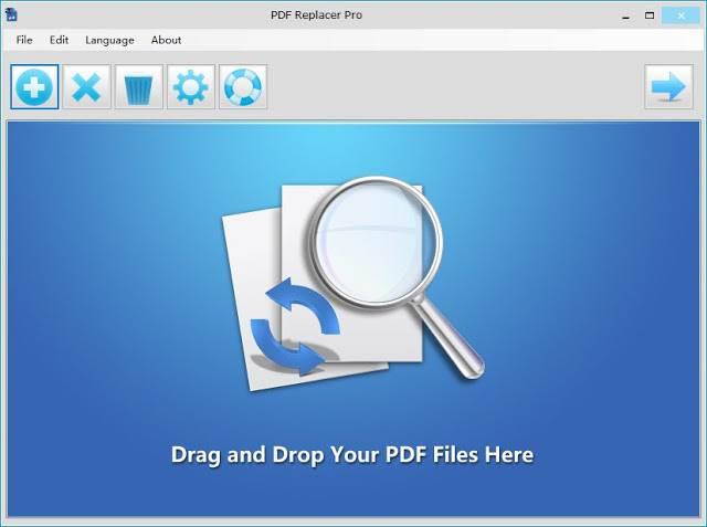 Screenshot PDF Replacer Pro 1.1.2.4 Full Version