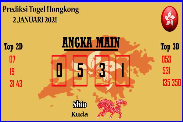 Bocoran Hongkong 2 Januari 2021